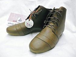 『レディース』shoe the bear(シューザベア)本革レザーショートブーツ